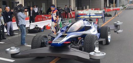 「1/1ミニ四駆 エアロアバンテ」がジャパンカップでお披露目!最速180km/hで走るぞ!