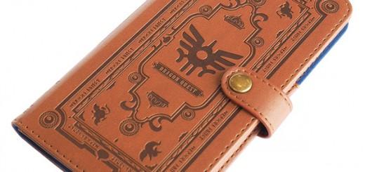 勇者に朗報!どこでもセーブ可能なドラクエ「冒険の書」型スマホケース発売