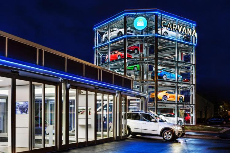 Car-Leaving-Carvana-Vending-Machine