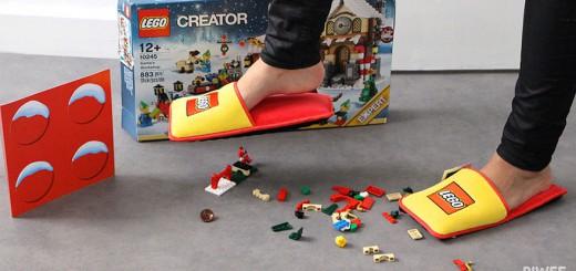 LEGO専用スリッパが販売!間違えて踏んでも痛くない時代へ