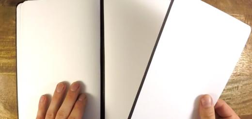 ちぎったノートが再びくっ付く!しかもページ組み換え可能な魔法のノート