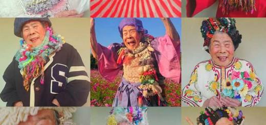 93歳のおばあちゃん、個性的な織物を次々と着こなしInstagramで話題