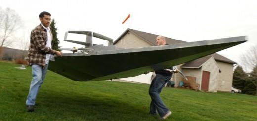 巨大戦艦が宙に舞う!『スター・ウォーズ』のスター・デストロイヤーをラジコンで再現