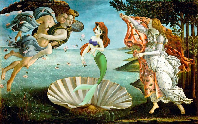cartoon-in-famous-paintings-11
