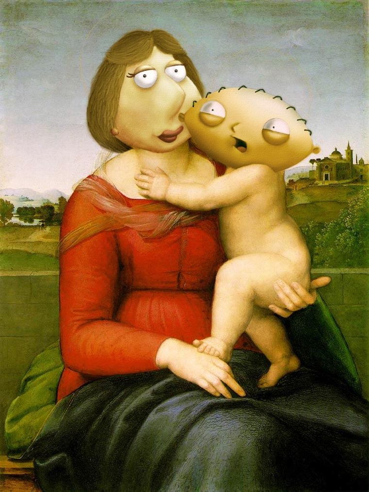 cartoon-in-famous-paintings-22
