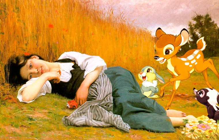 cartoon-in-famous-paintings-5