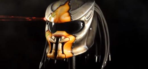 プレデターの頭部を再現したヘルメット誕生!これはもう深夜に出会いたくないレベル