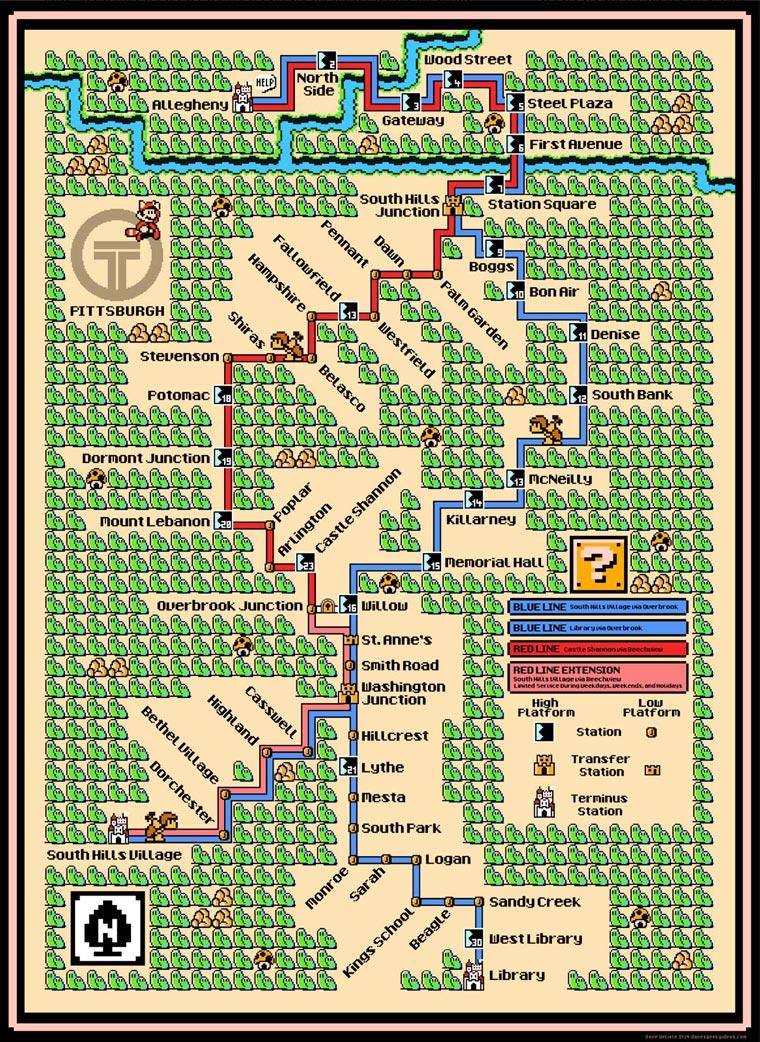 Mario-Subway-Pittsburgh