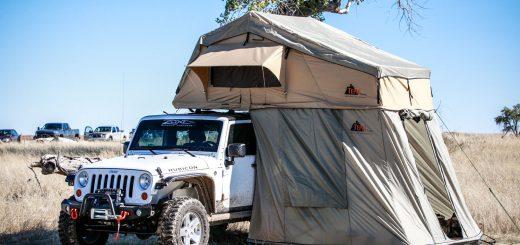 【ルーフテント】車の屋根に設営!雨対策バッチリで景観も最高なTepuiのAutana SKYテント