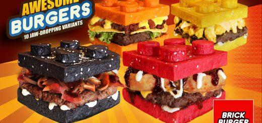レゴ好き必見!レゴブロックそっくりなハンバーガーがフィリピンに登場