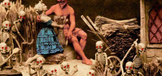 悪魔が3Dで見える!1875年に作られたステレオスコープの地獄写真
