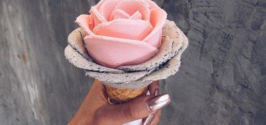 まるでバラの花!女子必見のジェラートがシドニーで話題