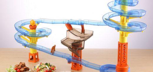全長5m!人気流しそうめん機「ビッグストリーム そうめんスライダー」新型が発売
