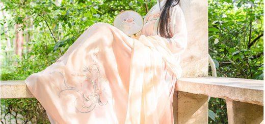 チャイナドレスより可愛い!?中国の漢服を着た美少女が話題