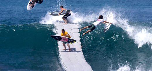 サーファー必見!波待ちやテイクオフが超楽になる画期的な浮島