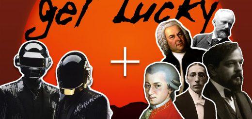Daft Punkの「Get Lucky」を見事再現!クラシック曲だけでマッシュアップ