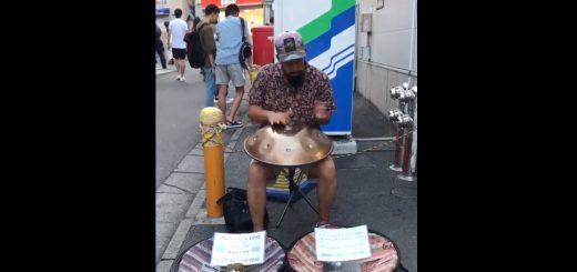 ハンドパン奏者の峯モトタカオさん演奏動画が話題!癒やされる人続出