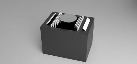 中から登場するのは…どんな物でもゴージャスに登場させる箱『デルモンテ』が話題