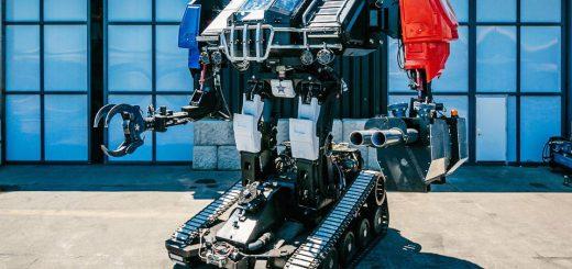 日本の巨大ロボット「クラタス」と対決!米国「Eagle Prime」が性能動画を公開