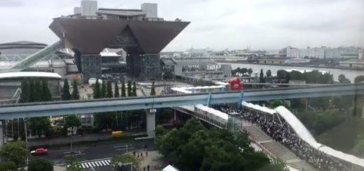 「世界よ。これがコミケだ。」東京ビッグサイトへ押し寄せる大群の動画が話題