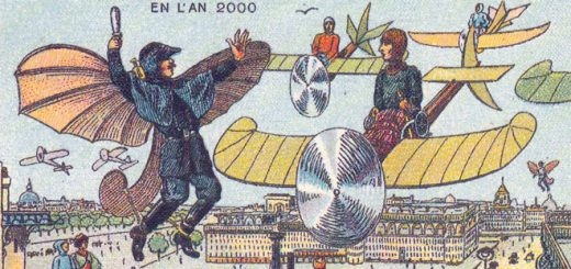 予言の多くが的中!?100年前に描かれた「100年後の未来」絵たち