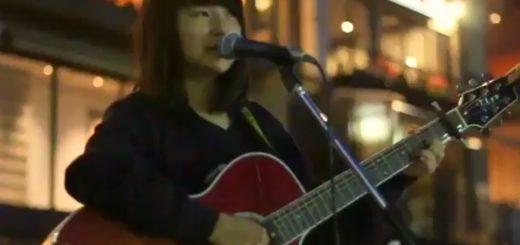 坂口有望さんの路上ライブ動画が話題!女子高生の天才シンガーソングライター現る
