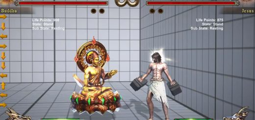ブッダとキリストが殴り合う!神々の対戦格闘ゲーム『Fight of Gods』が発売