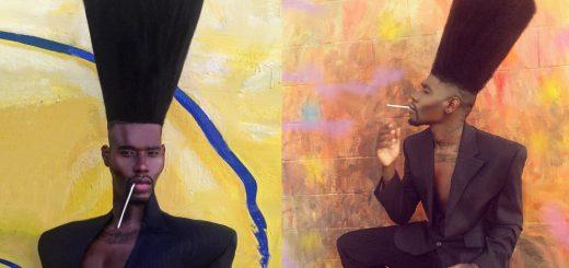ギネス公認「世界一縦に長い髪型」男がまるで『HUNTER×HUNTER』ゴンさん