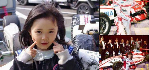 時速240kmのフォーミュラマシンを操る!11歳の天才少女レーサー野田樹潤が話題