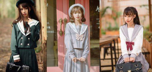 日本の女子高生をイメージした「JK系」が中国で流行!制服風ファッションが可愛いと話題