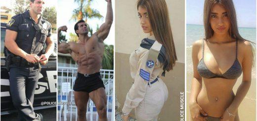 警察官と軍人だらけ!筋肉フェチを虜にするインスタグラム「ポリスマッスル」