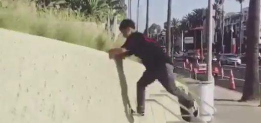パルクールアスリートのZENが披露!「最速で壁を登る方法」がカッコ良すぎると話題