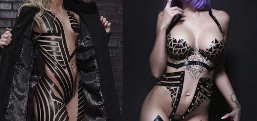 全裸にダクトテープで装飾!「ブラックテーププロジェクト」がアメリカのクラブシーンで流行