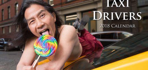 2018年版も高いギャグセンスとクオリティ!ニューヨークのタクシー運転手カレンダーが発売
