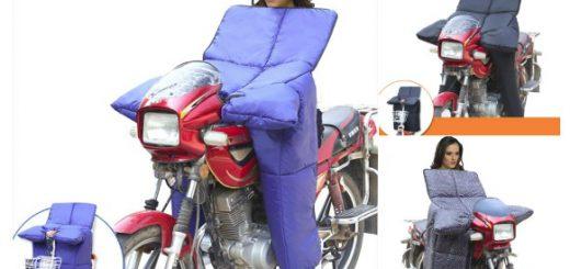 もはやモビルアーマー…中国の冬のバイク用防寒グッズが衝撃的ビジュアル
