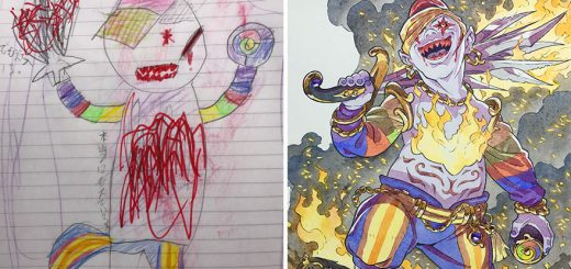 息子の落書きをアニメーターの父が本気でイラスト化!ロマン・トマさんの「親子イラスト工房」