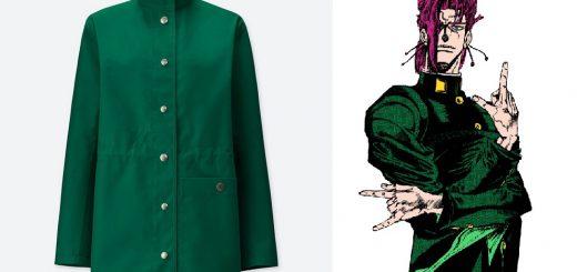 『ジョジョ』ファンなら見逃せない!花京院典明の服とそっくりなユニクロUの新作コート