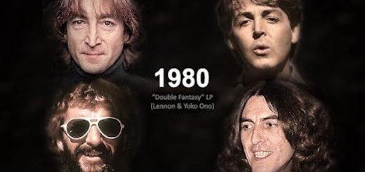 ビートルズメンバーの顔の変化を一本の動画で表現!57年分の名曲メドレー