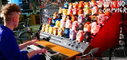 45体が合唱!楽器として魔改造された「ファービーオルガン」がキモ可愛い