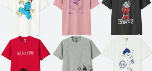 ユニクロ「UT」が創刊50周年の週刊少年ジャンプとコラボ!計30作品をTシャツデザインに採用