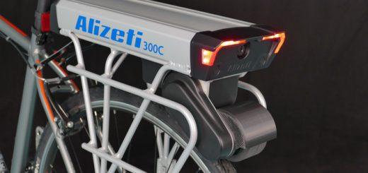 どんな自転車も手軽に電動アシスト自転車にできる装置「Alizeti 300C」