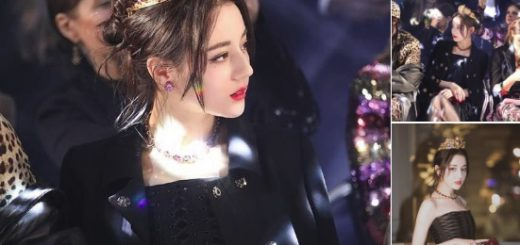中国トップ美女の女優ディリロバが「女王感がたまらない!」と話題
