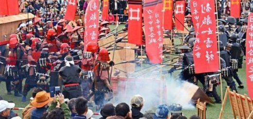 戦国時代好きは必見!ガチ甲冑合戦「桶狭間の戦い」が清須城で開催