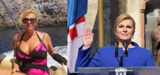 奇跡の50歳!クロアチアのキタロヴィッチ大統領が巨乳でセクシーすぎると話題