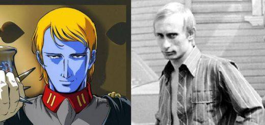 『宇宙戦艦ヤマト』ファン衝撃!若い頃のプーチン大統領がデスラー総統にそっくり