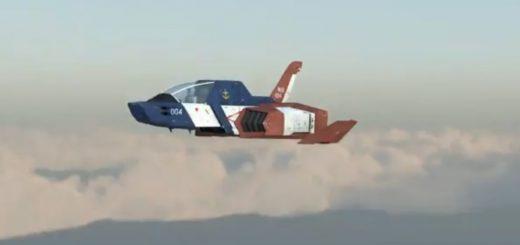 コア・ファイターの飛行を再現!ガンダムファン驚愕クオリティな3DCG動画