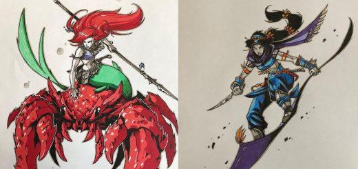 もしディズニープリンセスが格闘ゲームに参戦したら…どのキャラも強そうな妄想イラストたち