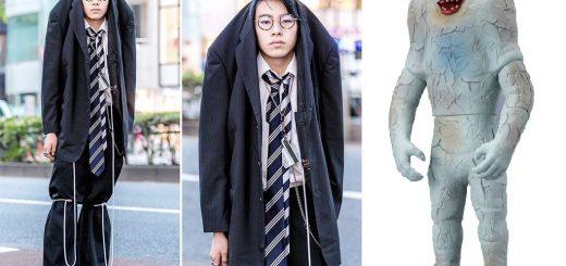 【衝撃】原宿の最先端ファッションが『ウルトラマン』ジャミラ