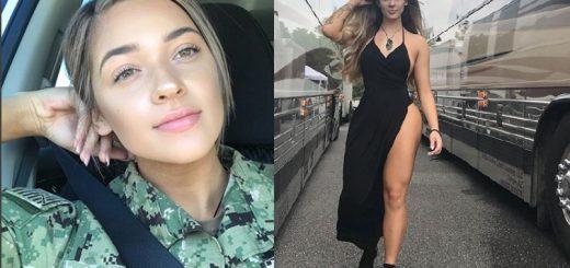 健康的でセクシー!アメリカの現役海軍兵士が美しすぎてギャップ萌え