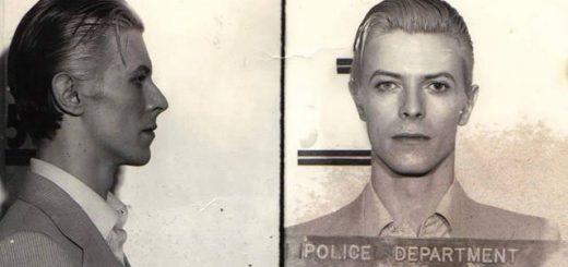 その美しさが犯!?40年前デヴィッド・ボウイ逮捕時のマグショットがまるでアート写真